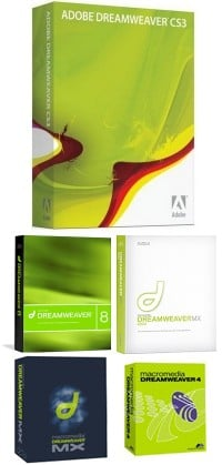 dreamweaver box shots