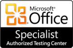 Microsoft Office Specialist Authorised Testing Centre