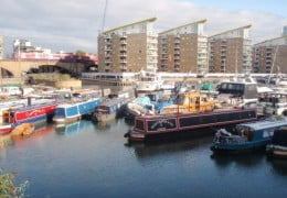 Local area near Limehouse training venue