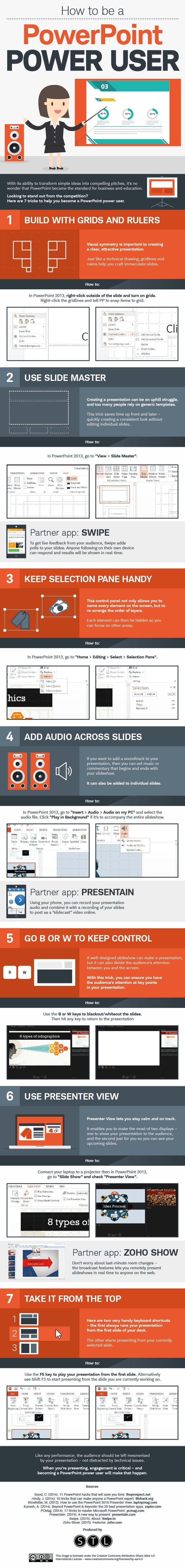 How to be a PowerPoint Power User