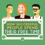 How successful people spend their free time