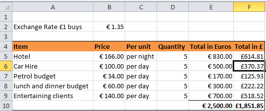 how to change currency symbol in excel