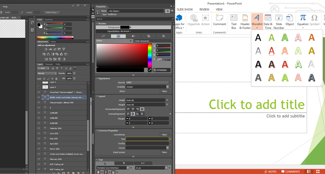 Could you use PowerPoint over Photoshop for effective design?