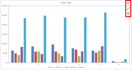how to change chart style in excel 2013