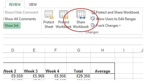how to share an excel file  How to share files in Excel