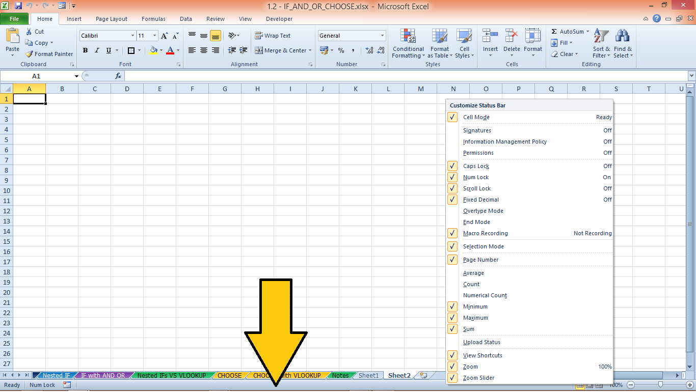 how to change auto fill options in excel